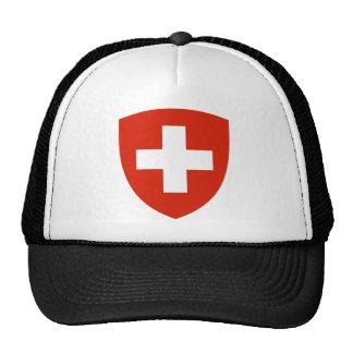 Símbolo oficial de la heráldica del escudo de arma gorros bordados