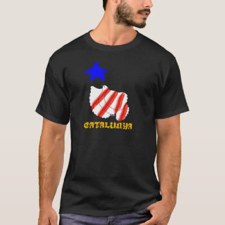 Símbolo patriótico, libertad de Cataluña, Camiseta