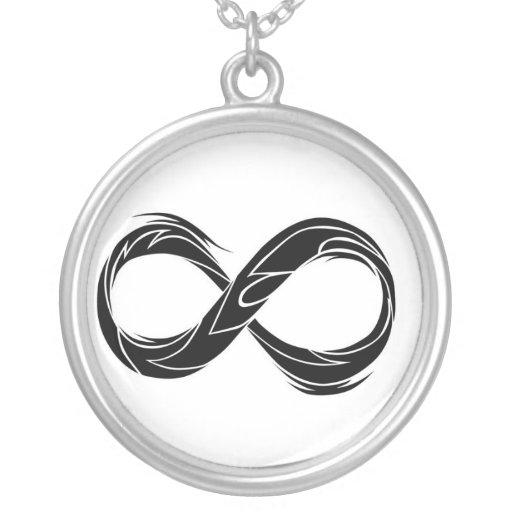 símbolo tribal del infinito grímpola