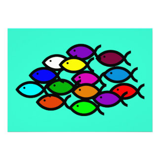 Símbolos cristianos de los pescados - escuela del