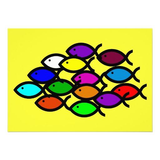 Símbolos cristianos de los pescados - escuela del  comunicados personalizados