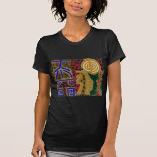 Símbolos curativos del vintage REIKI según lo Camiseta