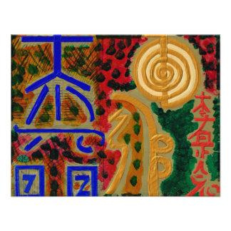 Símbolos curativos principales de REIKI Comunicados Personales