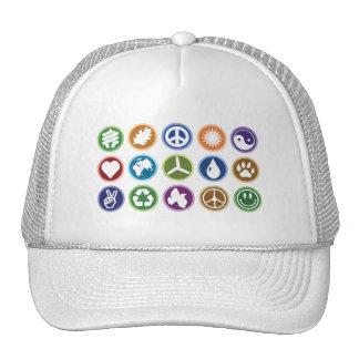Símbolos de Eco Gorros