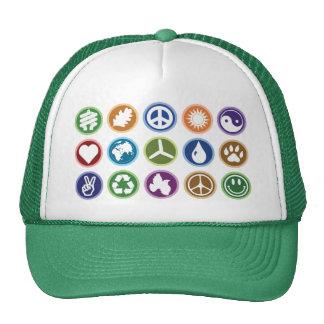 Símbolos de Eco Gorro De Camionero