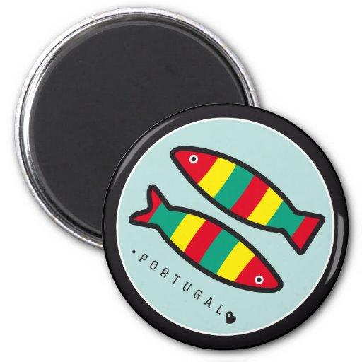 Símbolos de Portugal - sardinas Iman Para Frigorífico