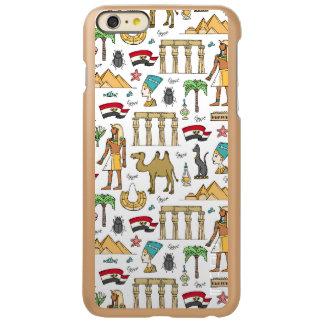 Símbolos del color del modelo de Egipto
