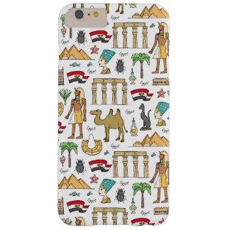 Símbolos del color del modelo de Egipto Funda Barely There iPhone 6 Plus