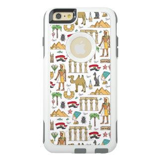 Símbolos del color del modelo de Egipto Funda Otterbox Para iPhone 6/6s Plus