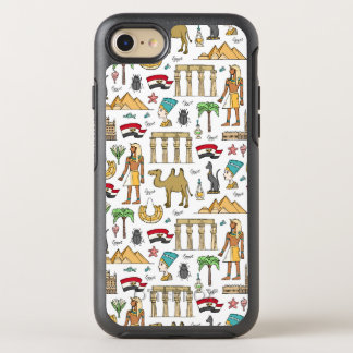 Símbolos del color del modelo de Egipto Funda OtterBox Symmetry Para iPhone 8/7