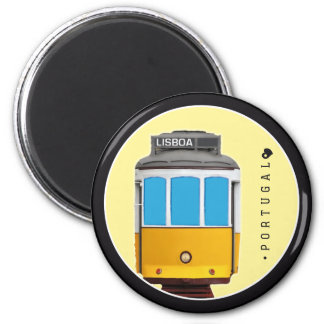 Símbolos del tranvía de Portugal - de Lisboa Imán