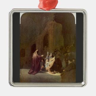 Simeon en el templo de Rembrandt Adornos De Navidad