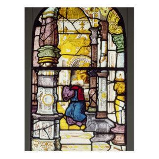 Simon en el templo beholding el Espíritu Santo Postal