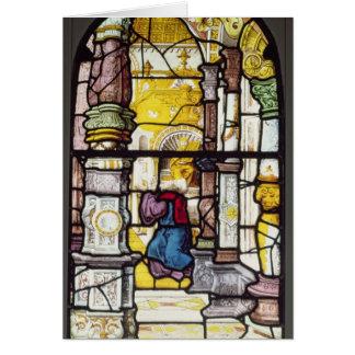 Simon en el templo beholding el Espíritu Santo Tarjeta