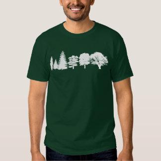 Simplemente árboles camisas