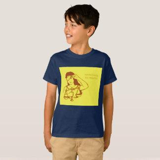 Sin embargo, ella persistió (amarillo) (los niños) camiseta