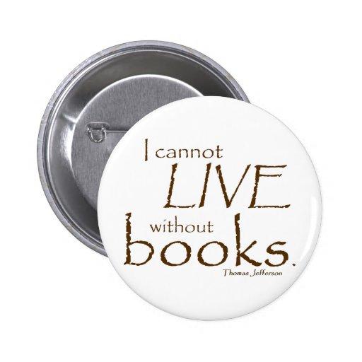 Sin los libros pins