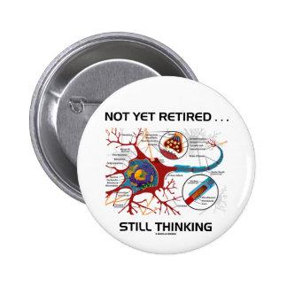 … Sinapsis todavía de pensamiento no todavía Chapa Redonda 5 Cm