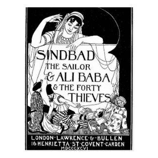 Sinbad la cubierta del marinero postal
