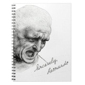 """Sinceramente Leonardo """"viejo hombre """" Libro De Apuntes"""