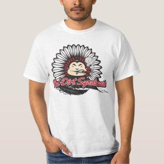 Sindicato rojo de la suciedad camiseta