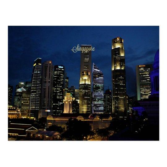 Singapur céntrico postal