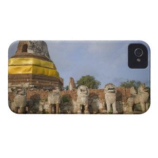 Singhat Wat Thammikarat iPhone 4 Protectores