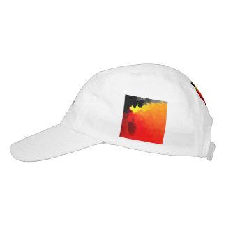 sino abstracto 02 gorra de alto rendimiento