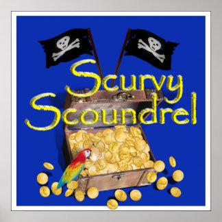 Sinvergüenza Scurvy Poster