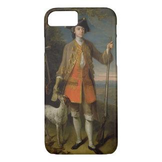 Sir Edward Hales, 1744 (aceite en lona) Funda iPhone 7