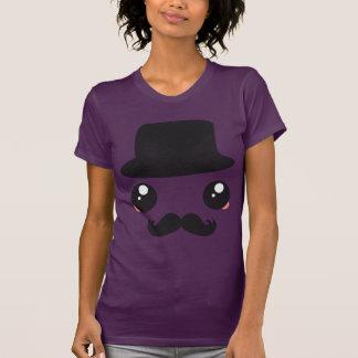 Sir Kawaii Moustache Holmes Camiseta