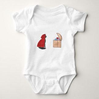 Sir Squeaker de Kittenton es victorioso Body Para Bebé