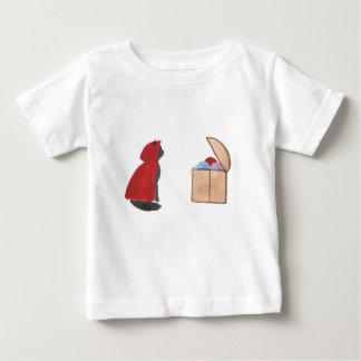 Sir Squeaker de Kittenton es victorioso Camiseta De Bebé