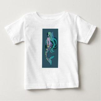 Sirena Camiseta De Bebé