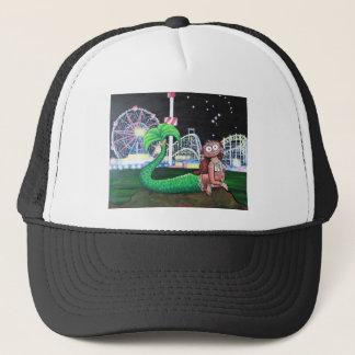 Sirena de Coney Island Gorra De Camionero