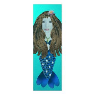Sirena de Merina, mini señales Plantilla De Tarjeta De Negocio