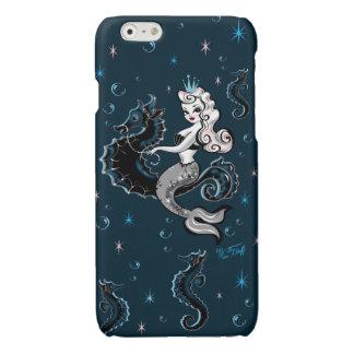 Sirena de Pearla en el caso de Iphone del Seahorse