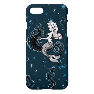 Sirena de Pearla en el caso de Iphone del Seahorse Funda Para iPhone 7