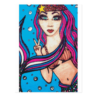 Sirena del Hippie Postal