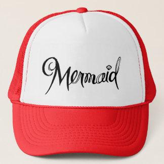 Sirena - rojo del gorra del camionero