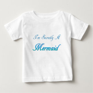 Sirena secreta camiseta de bebé