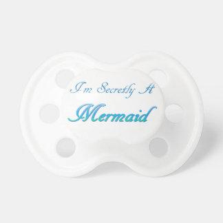 Sirena secreta chupete