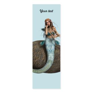 Sirena triste tarjeta de visita