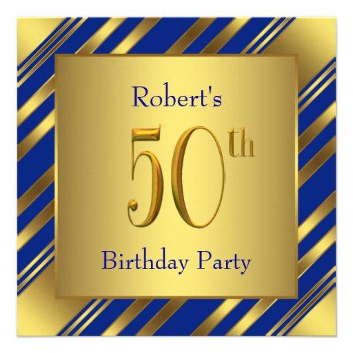 Sirve el azul real y a la 50.a fiesta de cumpleaño comunicado