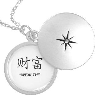 Sistema a juego de la joyería del símbolo chino de