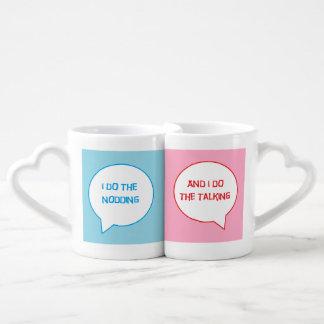 Sistema casado de la taza de los pares