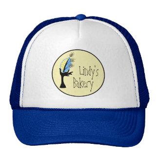 Sistema corporativo del diseño de marcado en calie gorra