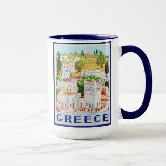 Sistema de Andros Grecia de 8 diversas tazas de