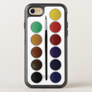 Sistema de la acuarela funda OtterBox symmetry para iPhone 7