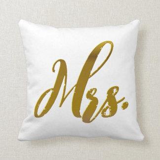 Sistema de la almohada de la hoja de oro de Sr. y